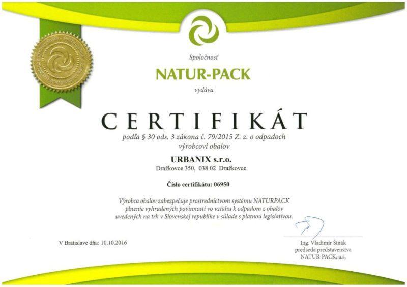 certifikat naturpack